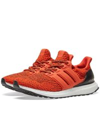 e9f33ff054d5c adidas Performance Ultra Boost M Running Shoe in Red for Men - Lyst