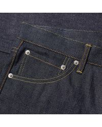 Visvim Blue Social Sculpture 03 Jean for men