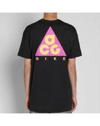 Nike Black Acg Tee for men