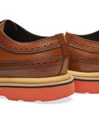 Paul Smith Brown Grand Brogue for men