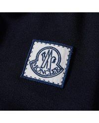 Moncler Blue Gamme Bleu Nylon Jersey Bomber Jacket for men