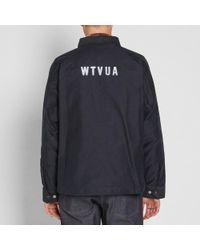 (w)taps Blue Sqd Jacket for men