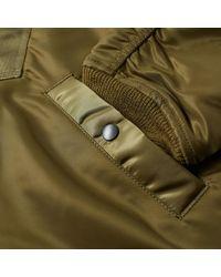 Sasquatchfabrix Green Do Not Kill 'korosuna' Flight Jacket for men