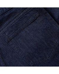 A.P.C. Blue Low Standard Jean for men