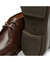 A.P.C. Brown Etienne Boot for men