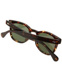 Moscot Brown Gelt Sunglasses for men