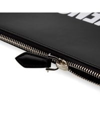 Givenchy Black Paris Calfskin Document Holder
