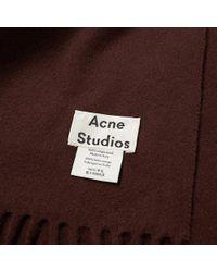 Acne Studios Multicolor Canada Narrow Scarf for men