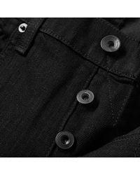 Rag & Bone Black Standard Issue Skinny Jean for men