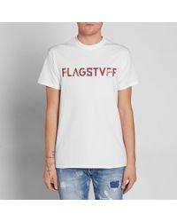 Flagstuff White F-lagstvf-f Tee for men