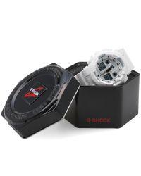 G-Shock White Casio Ga-100cg-7aer 'cracked Ground' Watch for men