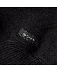 Sophnet Multicolor Split Logo Crew Sweat for men