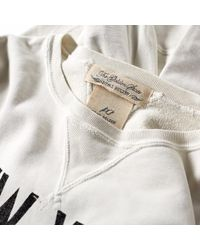 Remi Relief - White New York City Crew Sweat for Men - Lyst