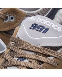 New Balance Green M991cfn - Made In England for men