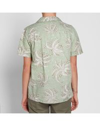 YMC Green Palm Malick Shirt for men