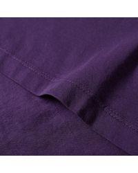 John Elliott - Purple Classic Tee for Men - Lyst