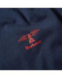 Barbour Blue Standards Tee for men