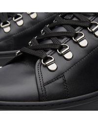 Valentino Black Point Break Sneaker for men