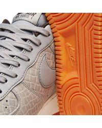 Nike Gray W Air Force 1 '07 Premium