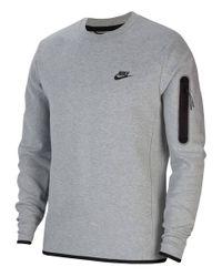 """Nike Sweatshirt """"Tech Fleece"""" in Gray für Herren"""