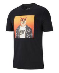 Nike T-Shirt »NSW« in Black für Herren