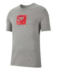 Nike T-Shirt in Gray für Herren