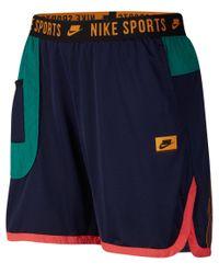 Nike Fitness-Shorts in Blue für Herren