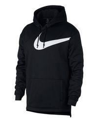 "Nike Sweatshirt ""Therma"" in Black für Herren"