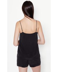 Equipment Black Layla Camisole Pajama Set