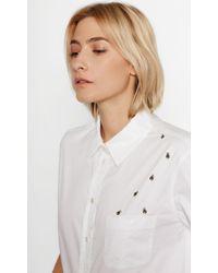 Equipment   White Kenton Cotton Shirt   Lyst