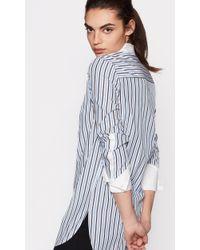 Equipment - Blue Tuxedo Arlette Shirt - Lyst
