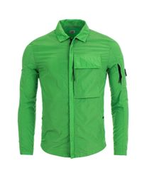 C P Company Multicolor Chrome Overshirt Jacket for men