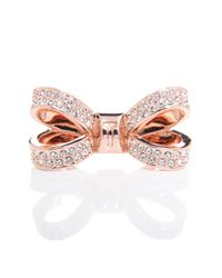 Ted Baker Pink Olima Bow Ring