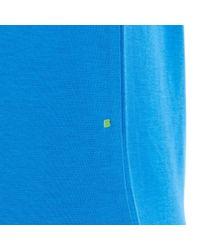 BOSS Athleisure - Blue Salbo Logo Sweatshirt for Men - Lyst