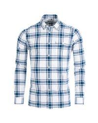 Barbour Blue Elver Shirt for men