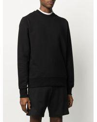 Y-3 Black Relaxed-fit Logo Sweatshirt for men