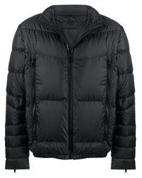 Prada Black Logo Puffer Jacket for men
