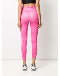 Nike Pink Monogram Pattern leggings