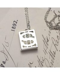 Erica Weiner - Metallic $ Holder Silver Necklace - Lyst