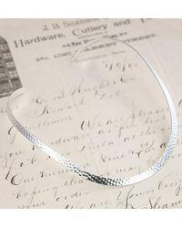 Erica Weiner - Metallic Hammered Collar Necklace - Lyst