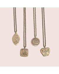 Erica Weiner - Metallic Intaglio Necklaces (brass) - Lyst