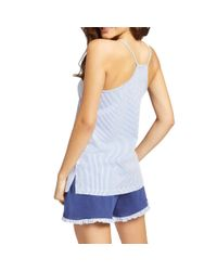 Yamamay Blue Cootto Pajamas Set