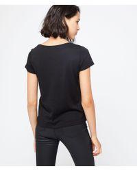 Camiseta 'love london' Etam de color Black