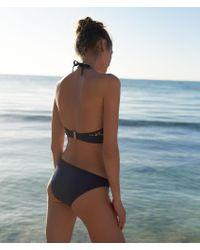 Braguita bikini lisa Etam de color Multicolor