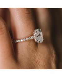 Etsy Yellow 3 Ct /108mm/ Hidden Halo Moissanite Engagement In Solid Rose Gold for men