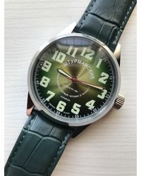 Etsy Green Vintage Watch for men