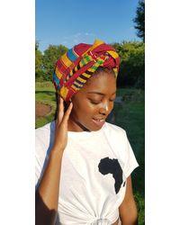 Etsy Multicolor Woven Kente Headwrap
