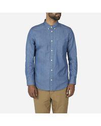 Everlane Blue The Denim Shirt for men