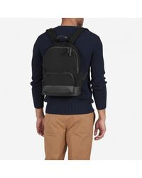 Everlane Black The Dipped Mini Zip Backpack for men