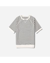 Everlane - Multicolor The Reverse French Terry Sweat Tee for Men - Lyst